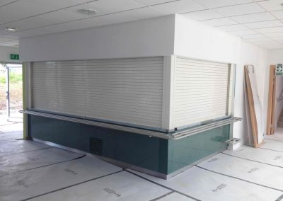 Phoenix, 2 Hour Fire Rated Tube Motor Power Operated Roller Shutter