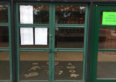 Glazed personnel doors 2