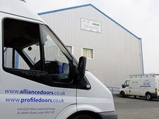 Industrial Security Door Fitters Preston