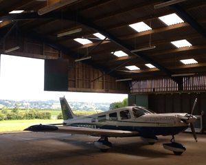 Industrial Doors Manchester in an Aircraft Hangar