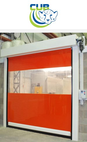 Cheetah Cub Low Cost Rapid Roll Door