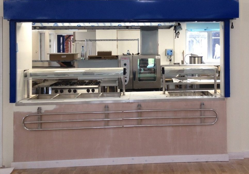 Phoenix Roller Shutters for Kitchen Serveries North-West