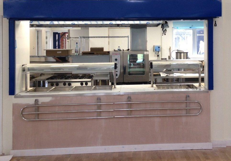 Phoenix Roller Shutters for Kitchen Serveries North-West