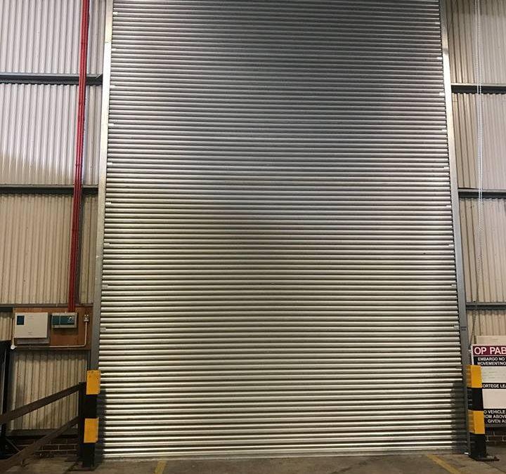 RAF Roller Shutters Installation