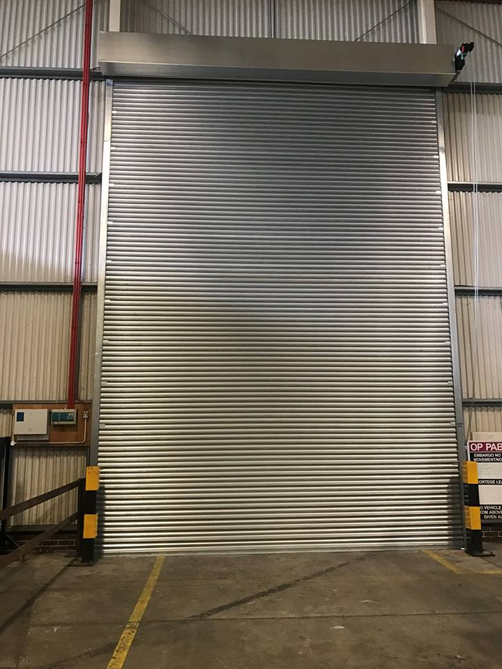 Industrial Shutters for Warehouse Power Operated