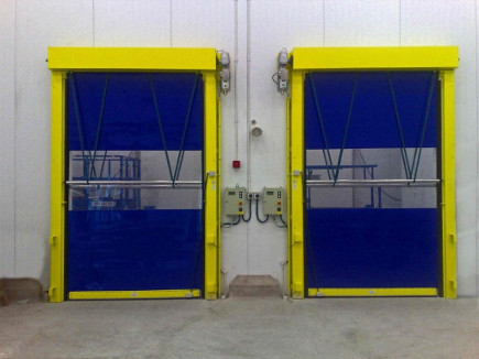 Industrial Doors Manchester Rapid Roll
