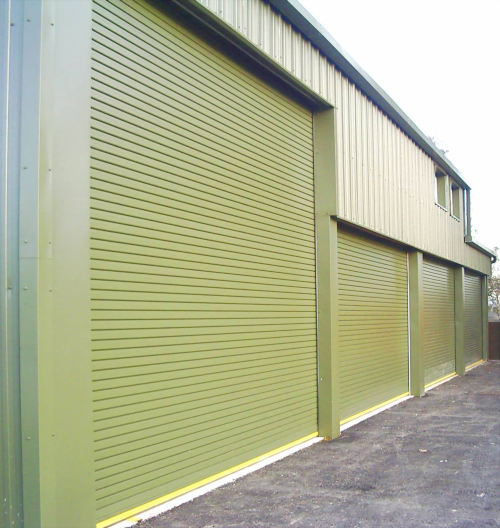 Insulated Doors Thermal Protection