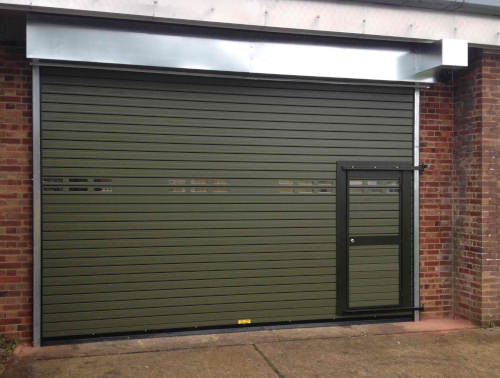 Insulated Shutters Wicket Gate Door