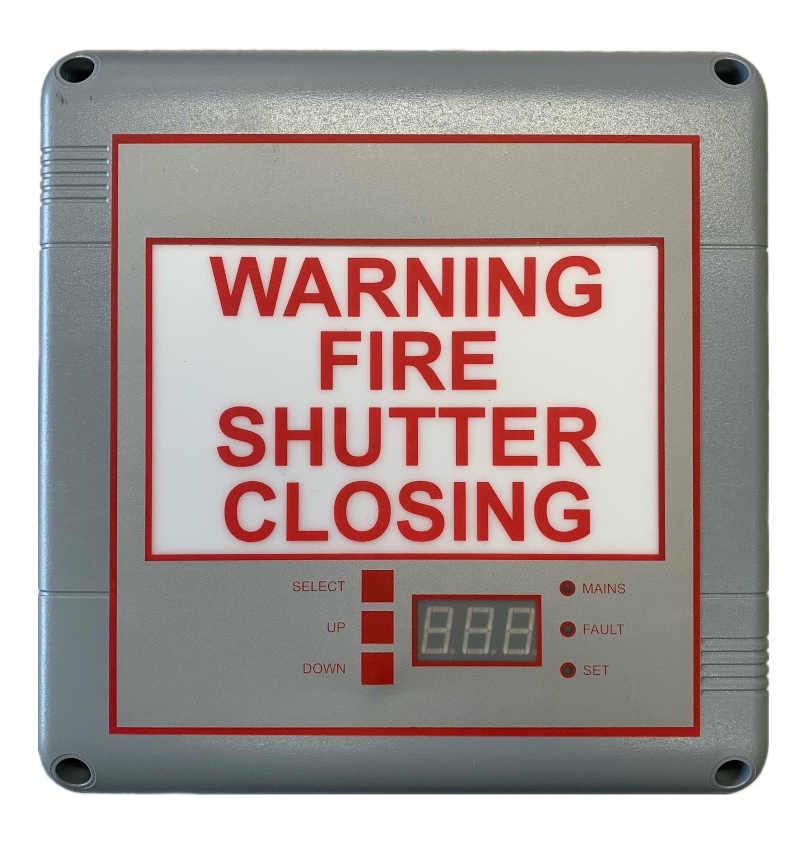 Fire Shutters Shutter Closing Alarm Panel