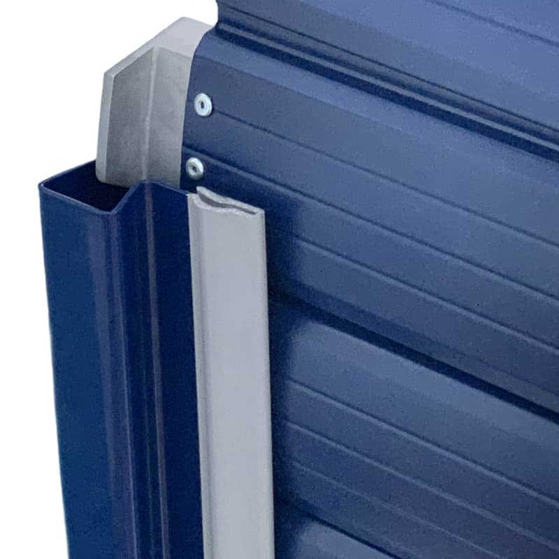 Insulated Roller Shutter with Polyurethane Foam Injected Coating